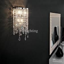 modern chrome crystal mirror lamp bathroom modern crystal wall lamp mirror light bathroom contemporary wall lamp