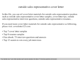 outside sales representative cover letter outside sales representative cover letter in this file you can pharmaceutical sales rep cover letter
