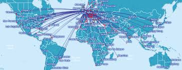 Image result for british airways global routes
