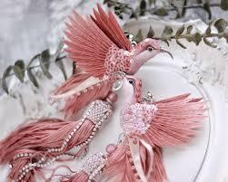 Серьги с птицами колибри