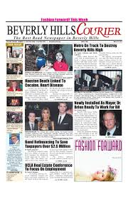 bh courier edition by the beverly hills courier issuu