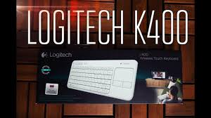 <b>Logitech Wireless Touch Keyboard K400</b> - Обзор - YouTube