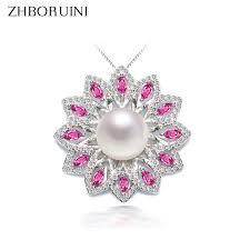 <b>ZHBORUINI</b> 2017 <b>New Pearl</b> Necklace <b>Pearl</b> Jewelry Natural ...