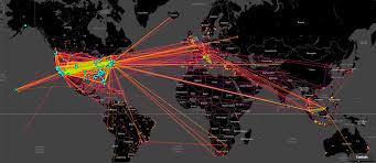 darpa program helps to fight human trafficking > u s department hi res photo details this heat map of human trafficking