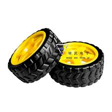 <b>Rubber Wheel</b> / <b>Robot</b> / <b>Tracking</b> Car Accessories Smart Car Tire ...