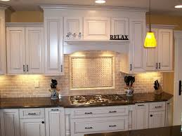 kitchen cabinets with granite countertops: excellent backsplash with white cabinets tile backsplash antique white cabinets kitchens with black granite countertopsgranite