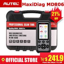 <b>Autel MaxiDiag MD806 Pro</b> Diagnostic Tool OBD OBD2 Scanner ...