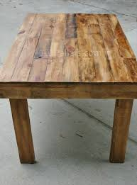 wood pallet dining table best wood for making furniture
