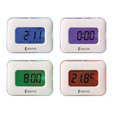 <b>Multifunctional Alarm Clock Digital</b> White | Konig