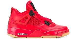 <b>Высокие</b> Кроссовки 'air <b>Jordan</b> 4 Retro' Nike, цвет: Красный ...