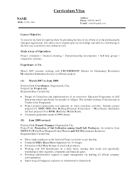 what to write in career objective in resume  socialsci cowhat