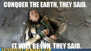 Puny God | Meme-vengers Assemble! | Pinterest | Loki, They Said ... via Relatably.com
