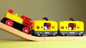 Мультфильм Поезд в Лондон - про игрушечные паровозики Брио ...