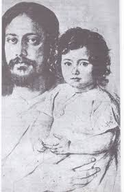 smaraka grantha  in 1891 rabindranath was 30 years old and he became a full fledged family member two of his children a daughter madhurilata and a son