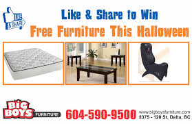 win free furniture this halloween big boys furniture big boys furniture