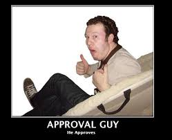 Approval Guy | Know Your Meme via Relatably.com