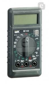 <b>Мультиметр IEK Compact M182</b> цифровой — купить по выгодной ...