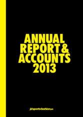 JD Sports Fashion PLC   AnnualReports com