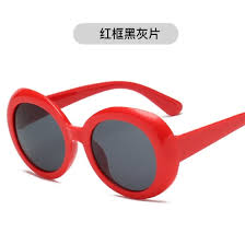 <b>Oval</b> frame sunglasses transparent ocean piece glasses <b>personality</b> ...