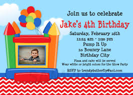 best compilation of bounce house birthday party invitations bounce house birthday party invitations which you need to make catchy birthday invitation design 139201614
