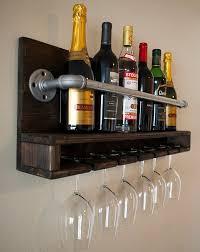 industrial pipe furniture. industrial pipe 6bottle wine rack can be by industrialdesignsbyb furniture n