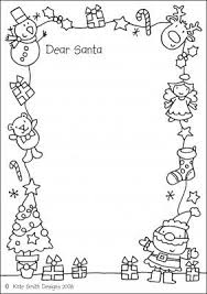 Letter to Santa- this one is fun because you can color it too! | Letters ...