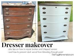 dresser makeover bedroom furniture makeover