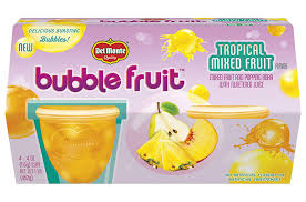 <b>Tropical Mixed</b> Fruit Joins Del Monte Popping Boba Bubble Fruit <b>Line</b>