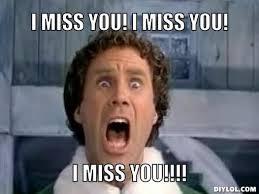 Missing You Memes | MISS YOU! I MISS YOU!, I MISS YOU ... via Relatably.com