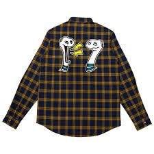 Boris & Oatmeal Embroidered <b>Flannel</b> | <b>Mike Shinoda</b>
