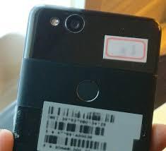 หลุดภาพโมเดลจริงของ Google Pixel 2 ทั้งด้านหน้าและหลังจะใช่ตัวเครื่อง ...