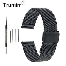 <b>18mm 20mm 22mm Milanese</b> Watch Band for Timex Expedition ...