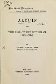 andrew fleming west alcuin and