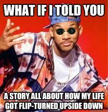 Morpheus Fresh Prince memes | quickmeme via Relatably.com