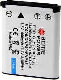 Купить <b>Аккумулятор ACMEPOWER AP</b>-<b>LI</b>-40B, для компактных ...