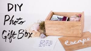 <b>DIY Personalized Photo</b> Gift Box - YouTube