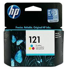 <b>Картридж HP 121</b> (<b>CC643HE</b>), голубой, пурпурный, желтый, для ...