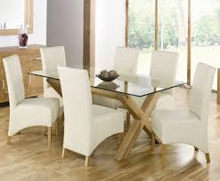 glass dining table sets home charming expandle glass dining table and white modern