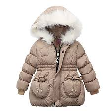 Buy Sunward 1-3 Years <b>Children Kids Girls Winter Coats Jacket</b> Zip ...