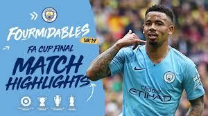 HIGHLIGHTS | Man City 6-0 Watford I FA Cup Final - YouTube