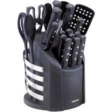 Farberware <b>17</b>-<b>Piece</b> Never Needs Sharpening Knife and Kitchen ...