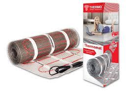 <b>Теплый пол</b> нагревательный <b>мат</b> Thermo Thermomat 6 кв.м 130 ...