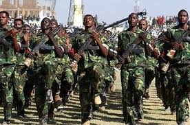 Image result for Khartoum army troops