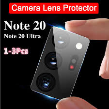 <b>1 3Pcs Camera Lens</b> Tempered Glass For Samsung Note 20 Ultra ...