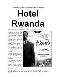 worksheet hotel rwanda worksheet worksheet hotel rwanda worksheet comprehension and discussion activities for the