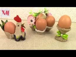 САМЫЕ ПРОСТЫЕ <b>подставки для яиц</b>/ Egg Stands DIY ...