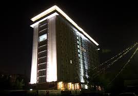 architectural facade lighting for ramada hotel building facade lighting