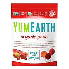 YumEarth <b>Organic Pops</b> Bag <b>Assorted Fruit</b> 14pk 85g – Kiah ...