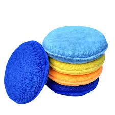 <b>5pcs</b> Soft <b>Microfiber</b> Car Wax Applicator Pad Polishing <b>Sponge</b> for ...