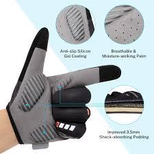 Cycling Gloves for Mens Women Ladies Gonex Mountain Bike ...